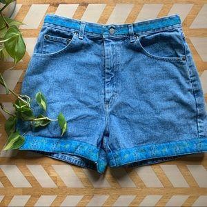 VTG | 90s High Waist Jean Shorts
